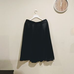 H&M Conscious flared satin skirt size 14